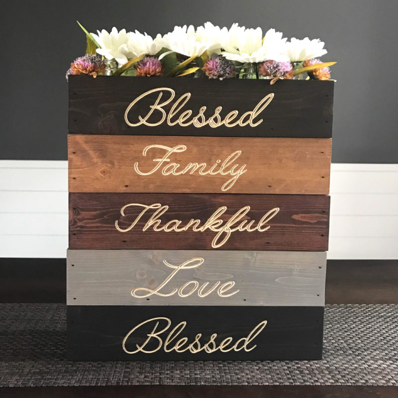 Engraved Centerpieces